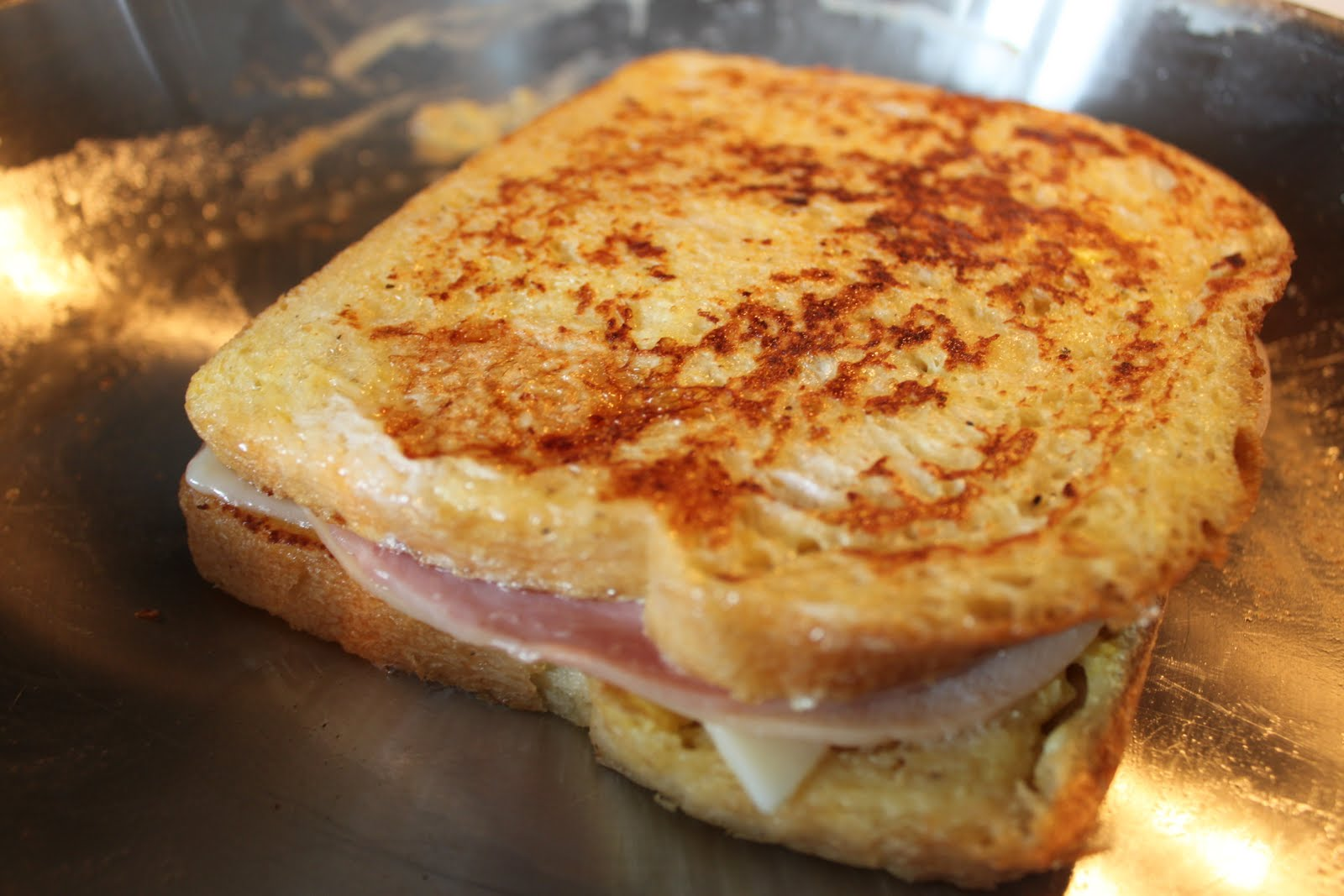 cristo sandwiches monte cristo sandwich fried ham and swiss with red ...