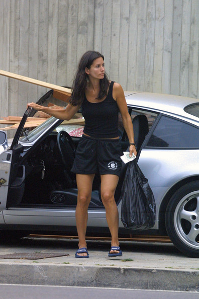 Stars And Cars Courteney Cox And Her Porsche