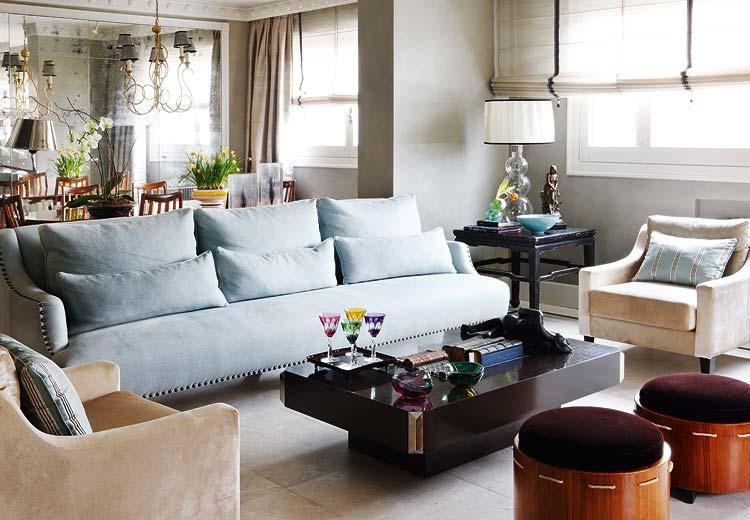 Un sal n muy rom ntico a very romantic living room - Nuevo estilo salones ...