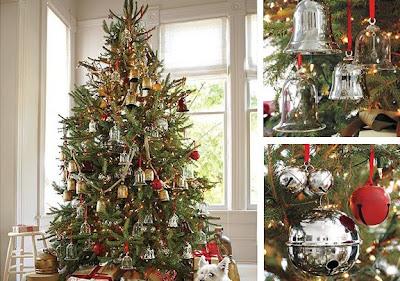 bellas propuestas para decorar un rbol de navidad clsico