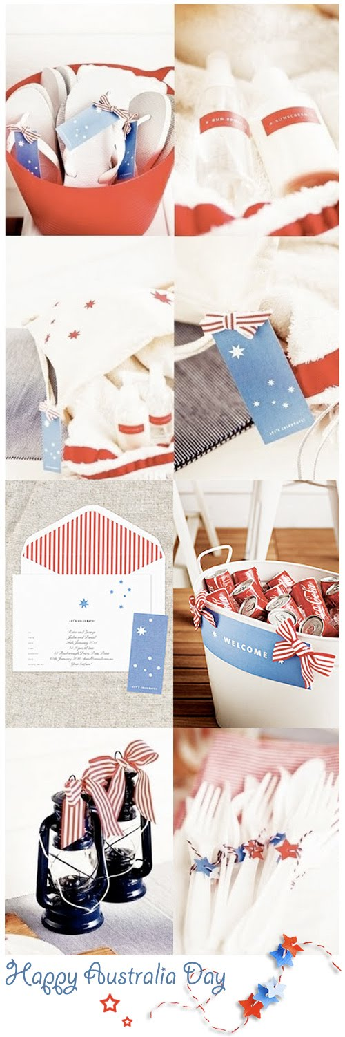 Chicdeco blog dia de fiesta en australiacelebrating for Australia day decoration