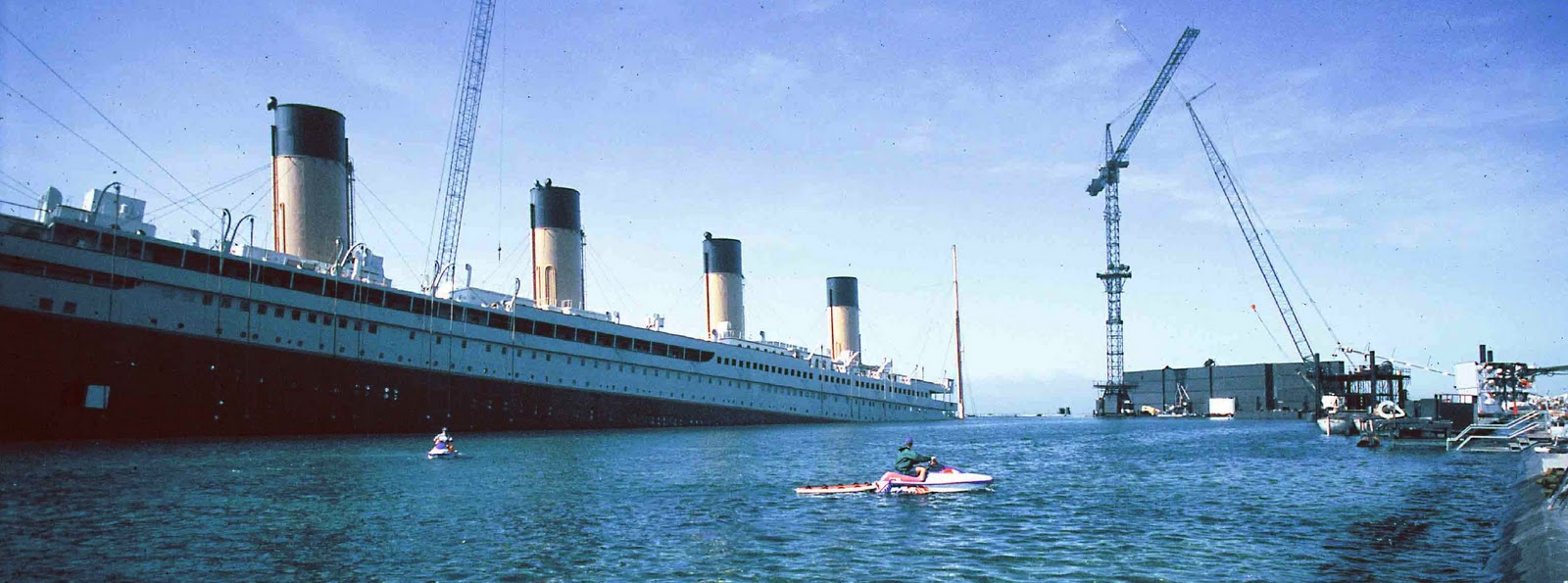 For The Filming Of Titanic James Cameron Built A Full Scale Set Of