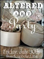 Altered Art Blog Party Friday, July 30th, 2010