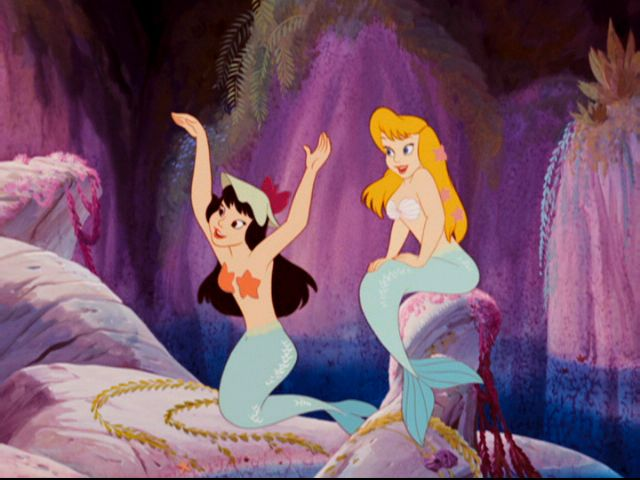 Disneys mermaid pornographic