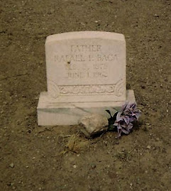 Socorro and the beyond graveyard rabbit the tombstone for moms paternal grandfather rafael baca luis lopez new mexico cemetery publicscrutiny Images