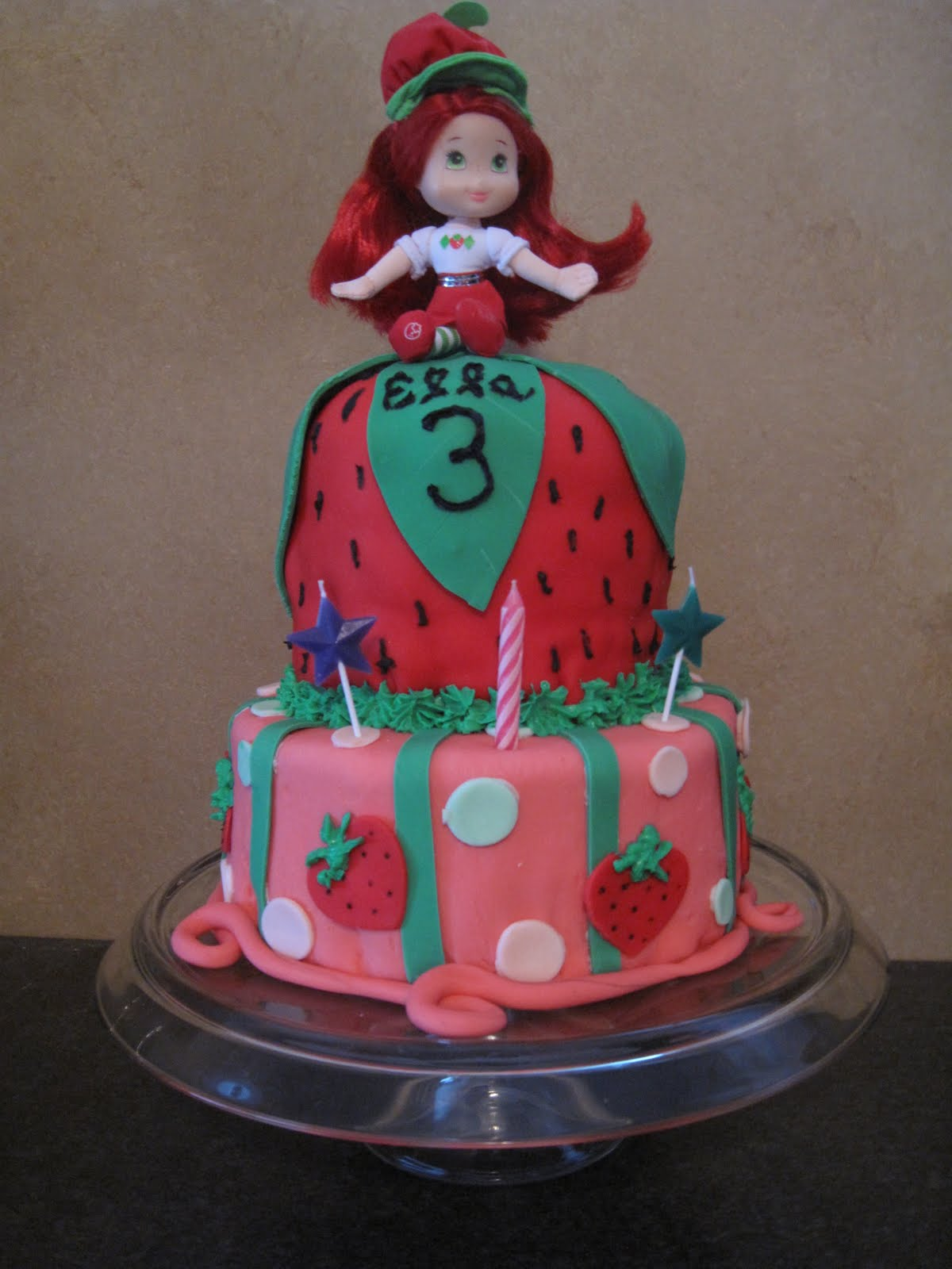 simply FOuR us: Strawberry Shortcake Cake