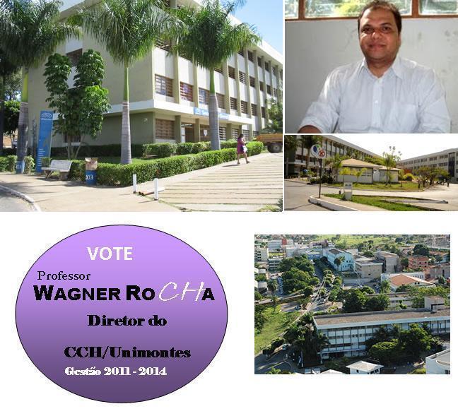 Prof. WAGNER ROCHA Diretor CCH/Unimontes