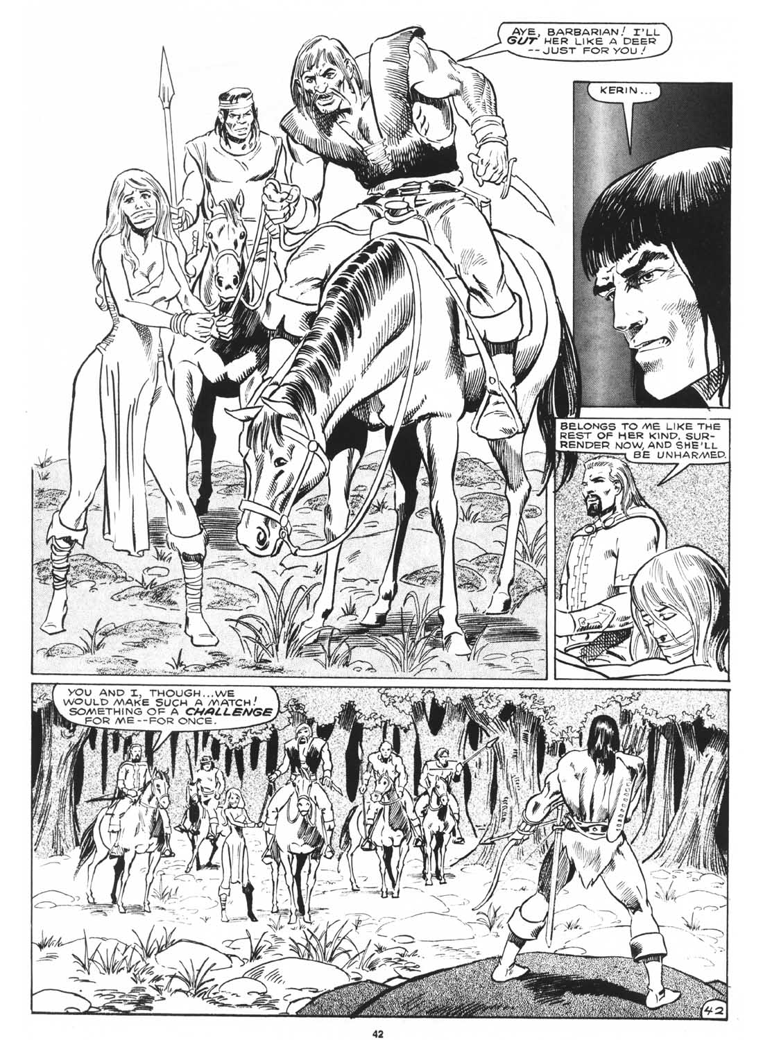 The Savage Sword Of Conan Issue #171 #172 - English 44