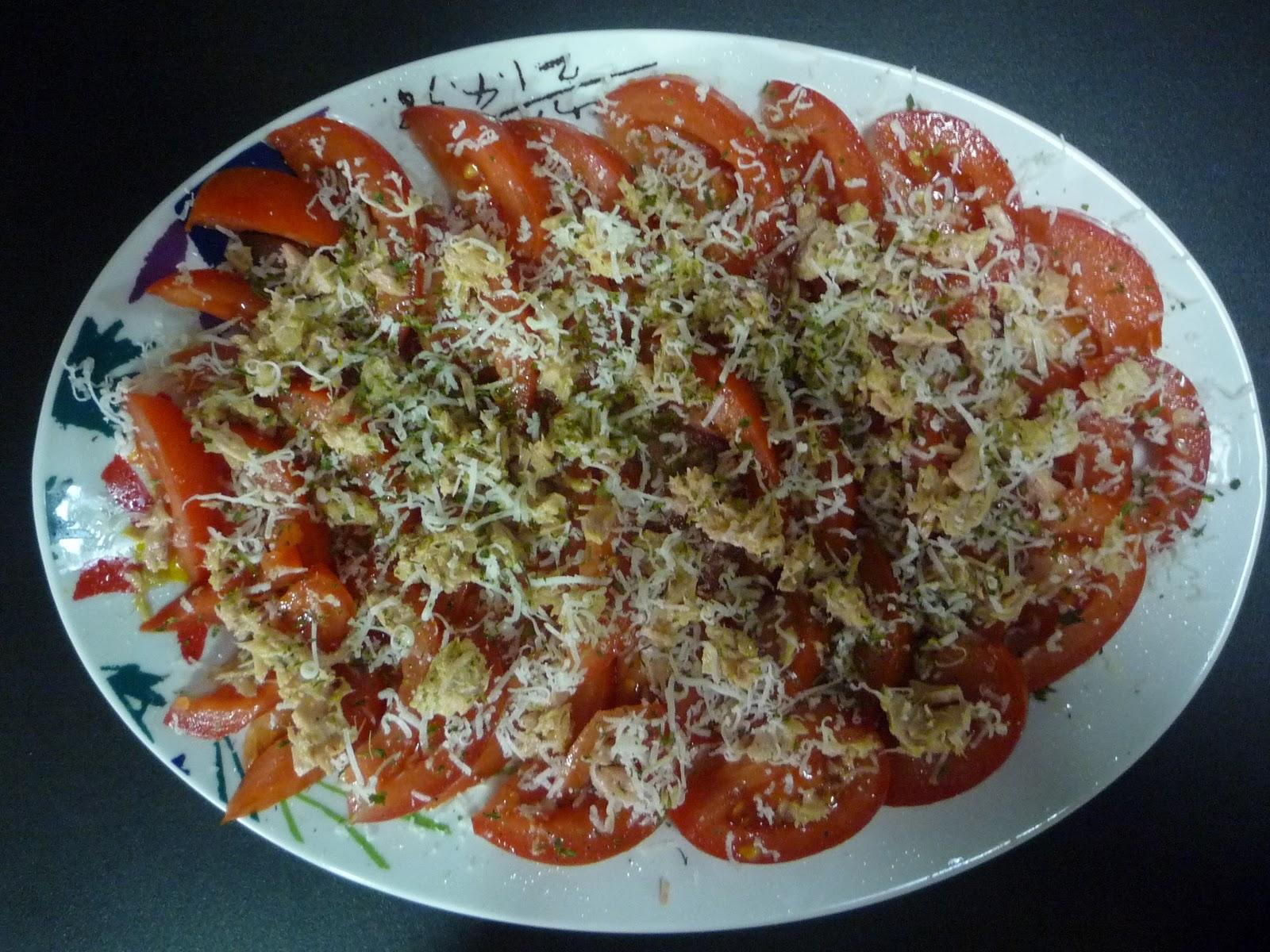 Vaciando la nevera improvisando una cena sencilla y sana for Cena original y sencilla