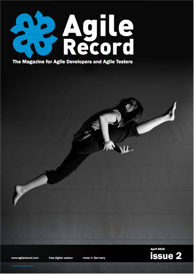 Agile Record - 2 Ed. Abr/2010