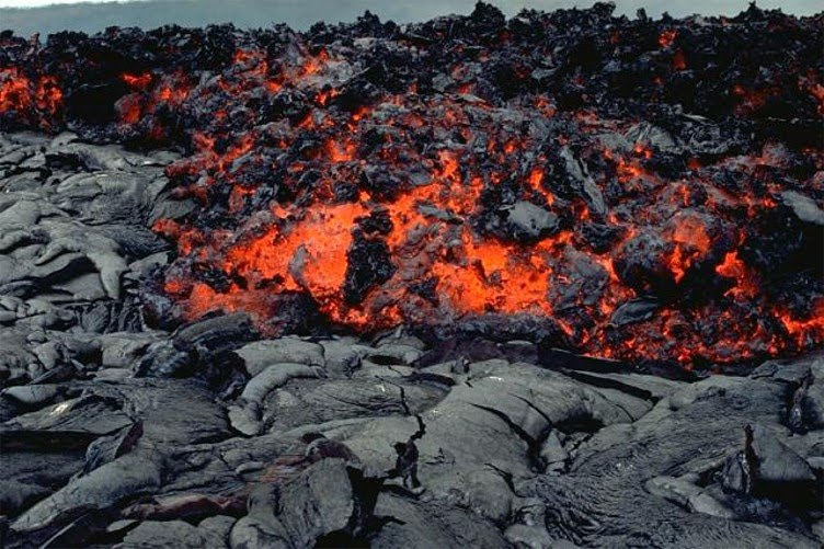 `A`A Lava Flow  Exposed!