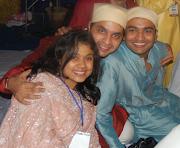 Paulomi, Santosh and Varun