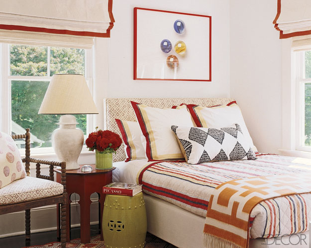 Be our guest on pinterest guest bedrooms traditional for Elle decor bedroom ideas