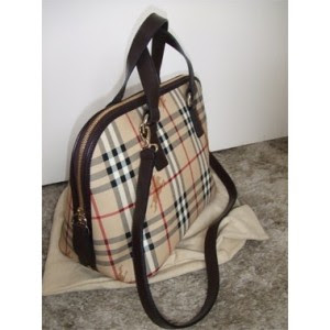 BURBERRY Checker Bowling Bag 100% Authentic Burberry Collection Style     10000007005 rM3 1217d7e99151d
