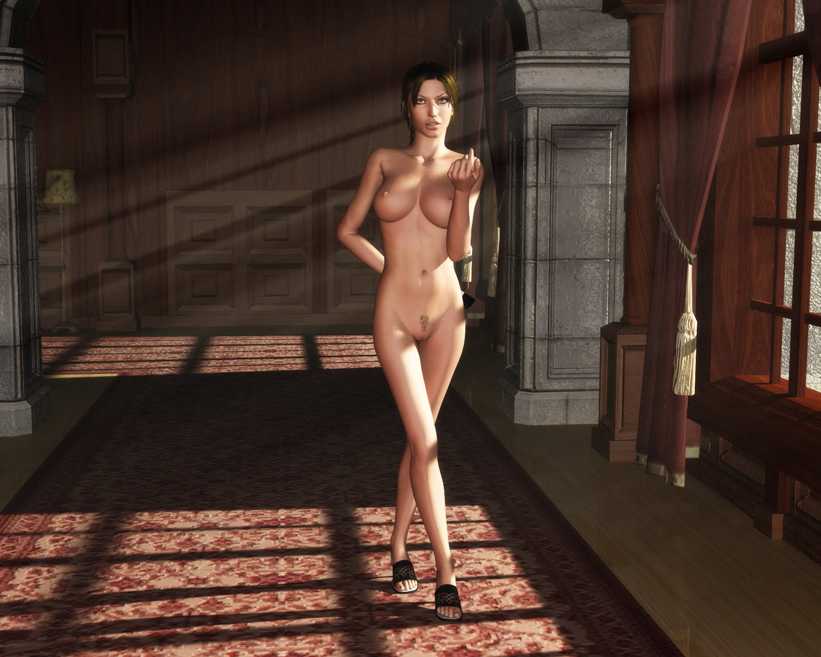 Nude skin of tomb raider anniversary exploited videos