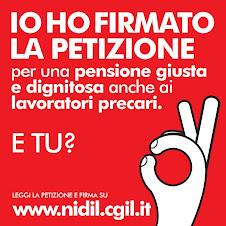 Petizione Nidil-Cgil