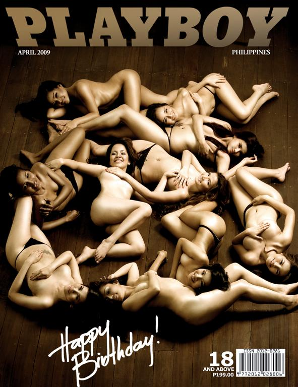 Playboy Magazine Philippines Anniversary Issue April 2009.