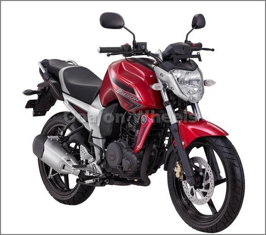 Foto Motor Yamaha Byson Biru