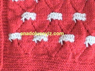 örgü çocuk hırkası DVC01027