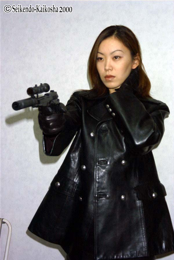 Have Asian girl with ar 15