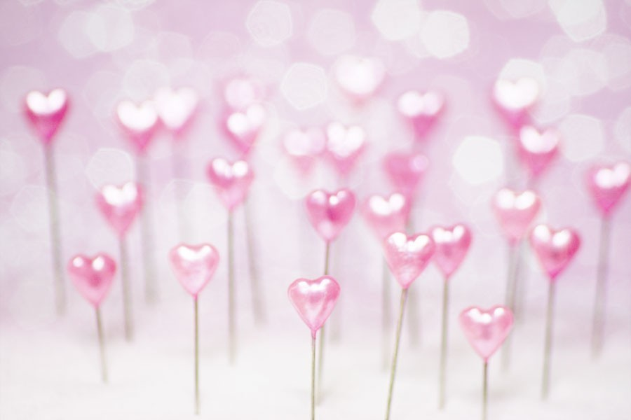 Pretty Pink Hearts Wallpaper | Pink Wallpaper Backgrounds