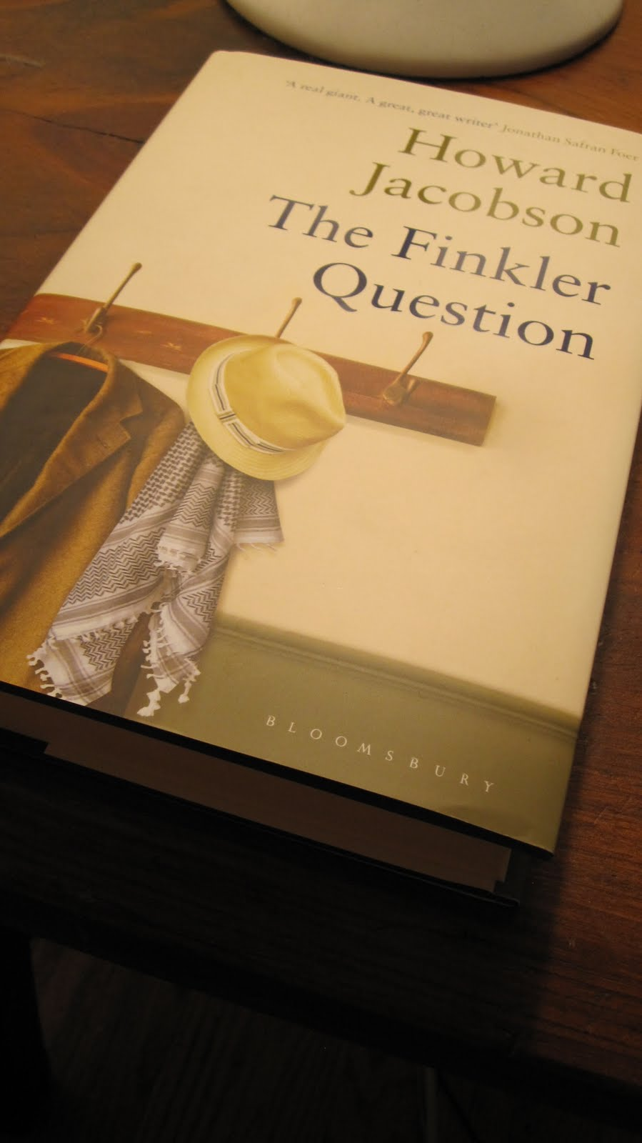 Congratulations To Howard Jacobson For Winning The 2010 Man Booker Prize  For His Novel The Finkler Question! I Haven't Read It Yet, But I'm Very  Much