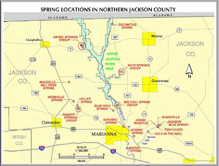 Florida Springs Chipola River Spring Inventory Jackson and
