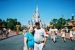 Hubby and me at Disney for our 30th anniversary!