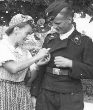 Hans Müller und seine langjährige beste Freundin Änne Heideklang