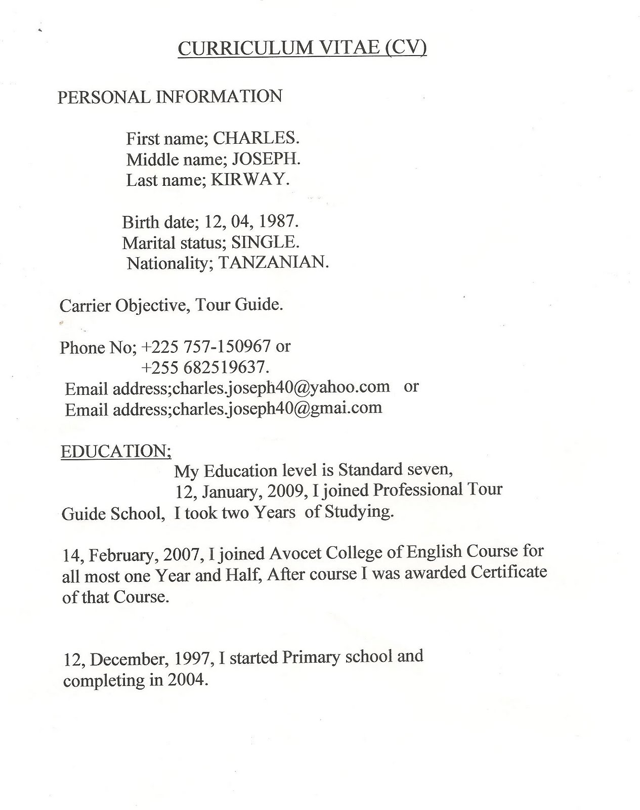 entry level resume example student writing guide and entry level example good resume template tour guide resume