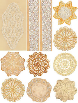 2011 Free Collage Sheet Vintage Doilies