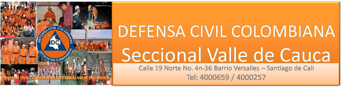 DEFENSA CIVIL SECCIONAL VALLE DEL CAUCA
