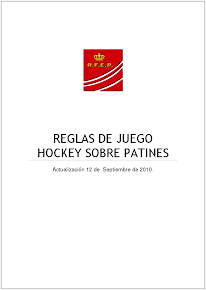 Reglas de Juego Hockey sobre Patines
