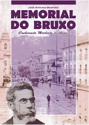 Capa do livro Memorial do Bruxo