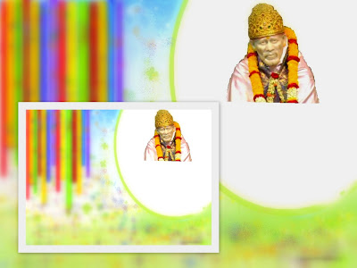 desktop wallpaper of sai baba. of Sai Baba is surrounded