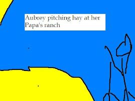 Aubrey's artwork