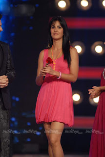 Katrina kaif in pink dress