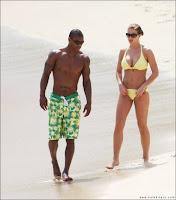 Gemma Atkinson in Yellow Bikini