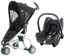 SALE!! BEST BUY!! NEW Quinny ZApp + Maxi Cosi Cabrio