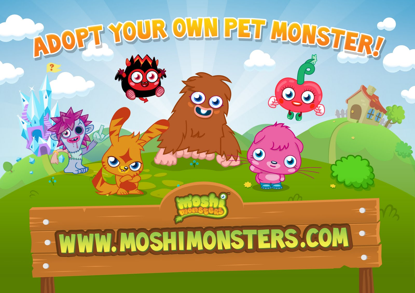The basic version of Moshi Monsters is free (sign-up here) but Members get exclusive access to all sorts of cool extras. Moshi Members are going to be super popular so to cater for your new found fame you can have thousands and thousands of friends on your tree!