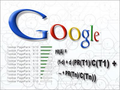 page rank de google sobre les webs