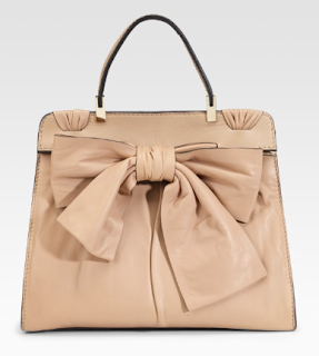 Valentino's Aphrodite Bow Top Handle Bag
