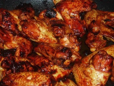 Alas de Pollo a la Miel