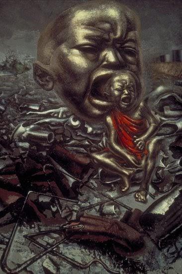 Kazziechameleon david alfaro siqueiros echo of a scream for David alfaro siqueiros mural tropical america