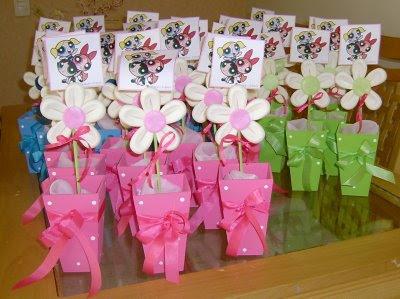 Centro De Mesa Ou Lembran  A Festa Tema  Meninas Super Poderosas