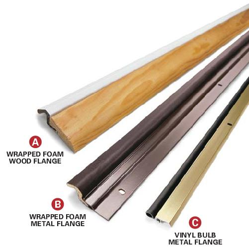 Install garage door weather stripping doors for Door weather stripping