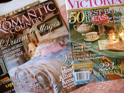 Pageturning for Inspiration: Inspiring Decorating Magazines ~ The