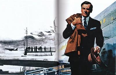 иллюстрации шестидесятых годов, ретро картинки, ретро книга, шестидесятые снова в моде, мода шестидесятых