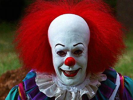 оно, пеннивайз, стивен кинг, танцующий клоун, it, тим карри, страшный клоун