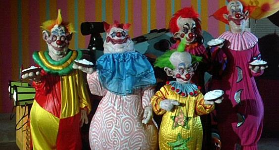 страшный клоун, ужасы, клоуны убийцы из открытого космоса, фильм ужасов